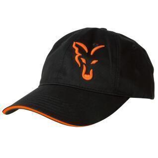 Gorra Fox Negra/Naranja