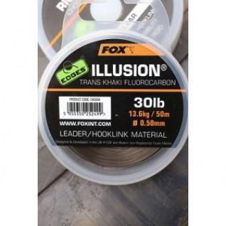 Alambre de fluorocarbono Illusion Fox 0,50 mm Bordes