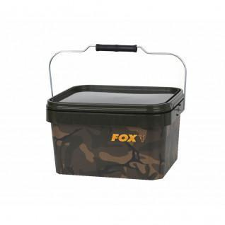 Cubo cuadrado Fox 5 litros Camo