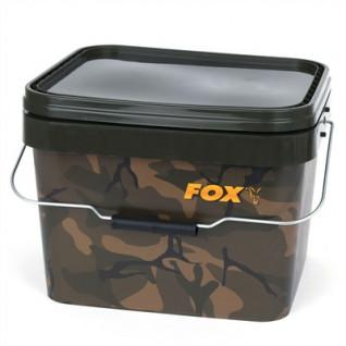 Cubo cuadrado Fox 10 litros Camo