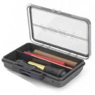 Caja monobloque Fox 2 compartimentos
