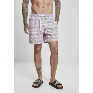 Pantalones cortos de baño con estampado Urban Classics (tallas grandes)